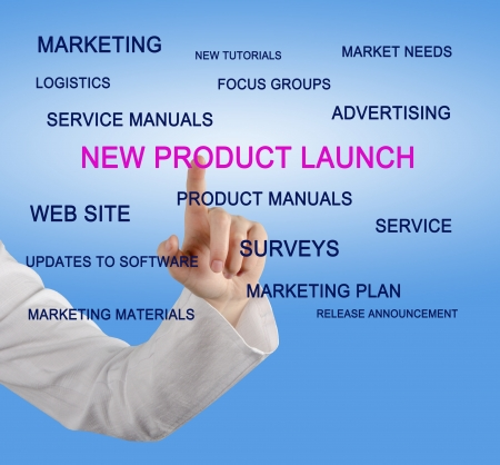 new products: New product launch