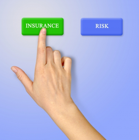 Keys for insurance and risk photo