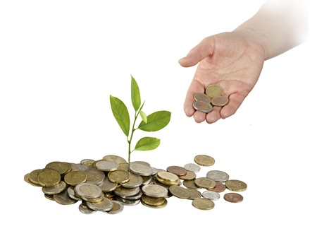 Investing to green business Stock Photo - 18262925