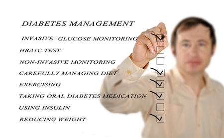 checklist for diabetes managment photo