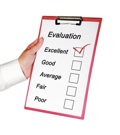 Evaluation photo