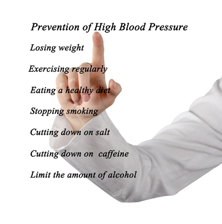 Prevention of high blood pressure photo
