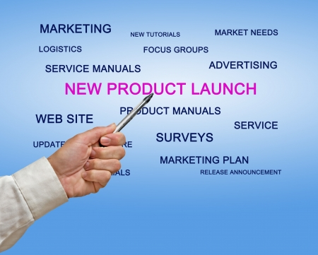 New product launch Stock Photo - 18415532