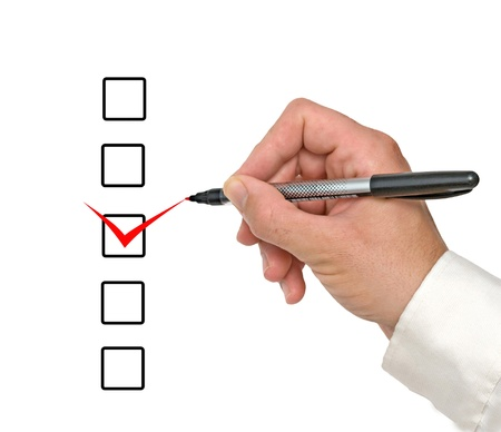 checklist Stock Photo - 18549305