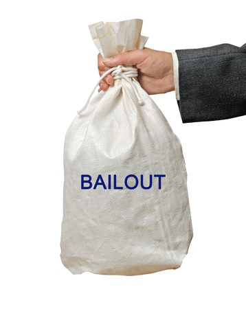 Bailout Stock Photo - 18549354