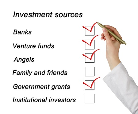 institutional: Investment sources checklist