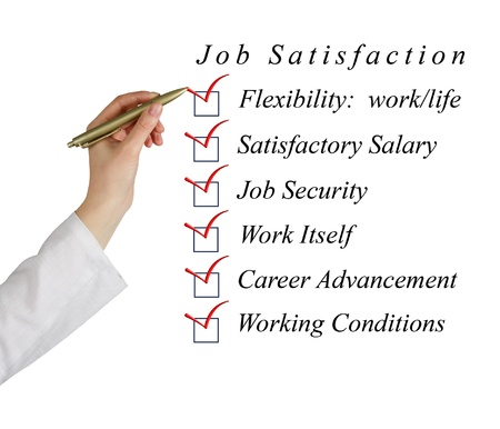 Job satisfaction list photo