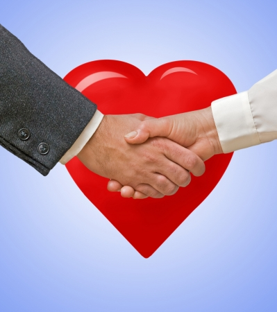 Love symbol photo