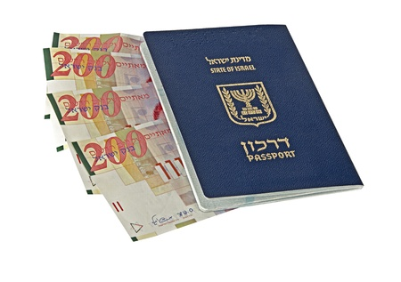 israel passport: Passport of an Israel citizen