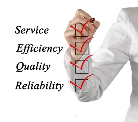Evaluation Stock Photo