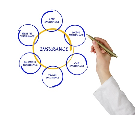 Diagram of insurance photo