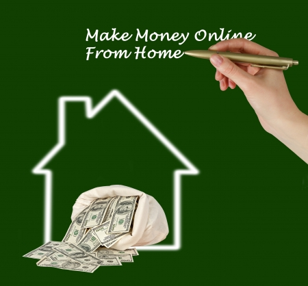 Make money online from home photo