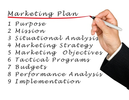 situational: Marketing plan
