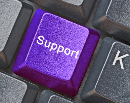 key for support