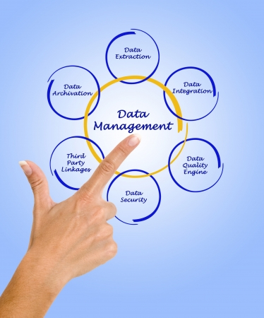 data management: Data Management Stock Photo