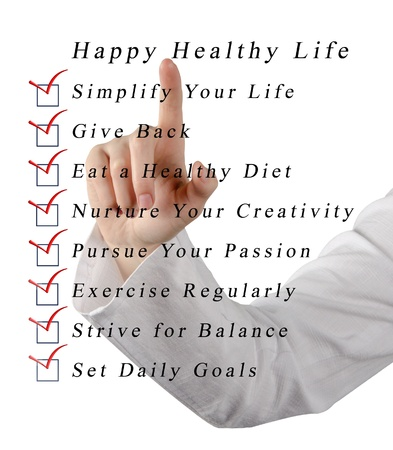 pursue: Happy healthy life