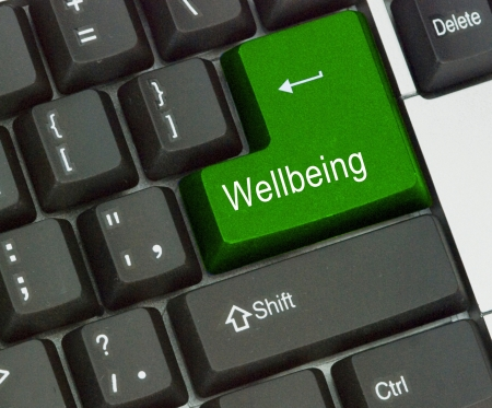 Hot key for wellbeing photo