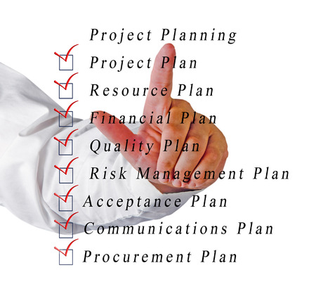 Project planning Stock Photo - 22255303
