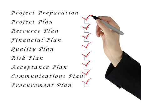 Project preparation photo