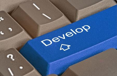 Key for development photo