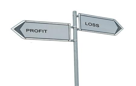 maximization: Road sign to profit and loss