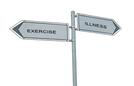 heathy: Road signs to exercise and illness