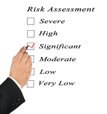 Risk assessment checkbox photo