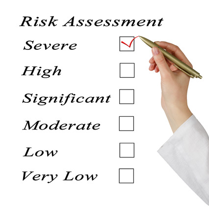 Evaluation of risk level photo