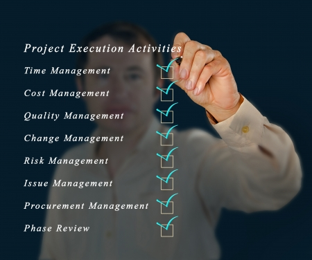 Project planning photo