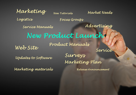 New product launch photo
