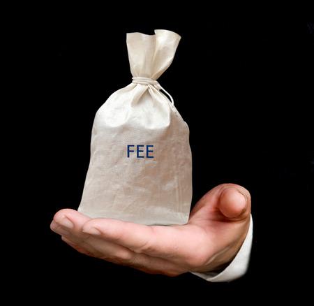 honorarios: Bolsa con tarifa
