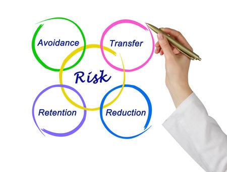 reduce risk: Diagram of risk