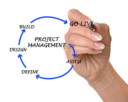 Diagram of Project management photo