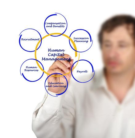 capital humano: Diagrama de la gesti�n del capital humano