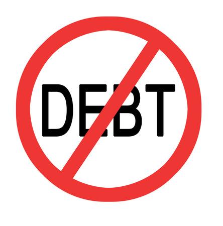 indebtedness: Preventing debt sign