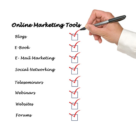 teleseminar: Checked on Online marketing tools