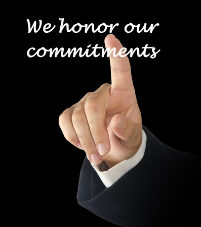 exceeding: We honor our commitments description