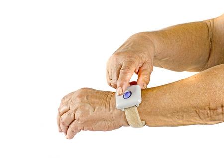 emergencia medica: Botón de emergencia