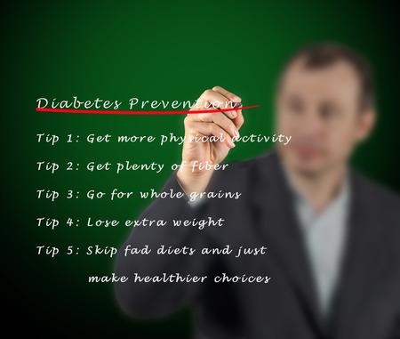 fad: Diabetes prevention Stock Photo