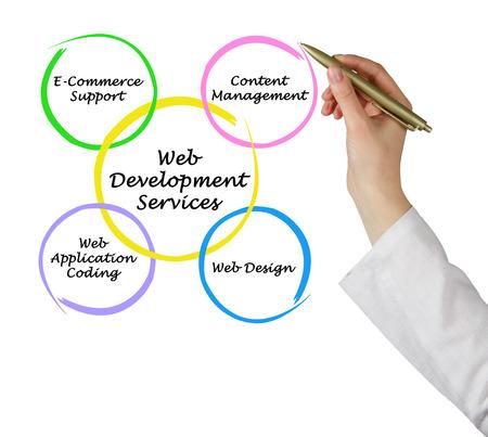 developments: Web development service