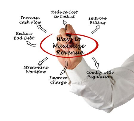 cash cycle: Maximize Your Revenue Cycle Stock Photo