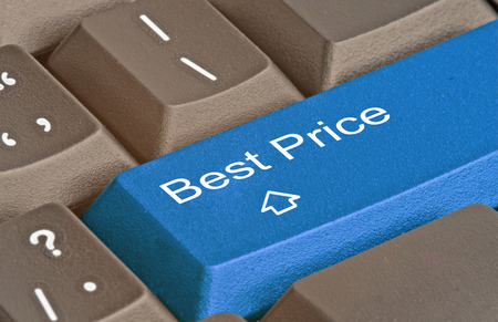 Keyboard with key for best price photo