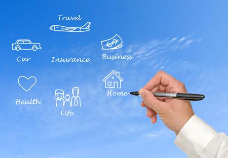 insurer: Diagram of insurance