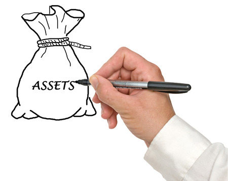 tangible: Assets Stock Photo