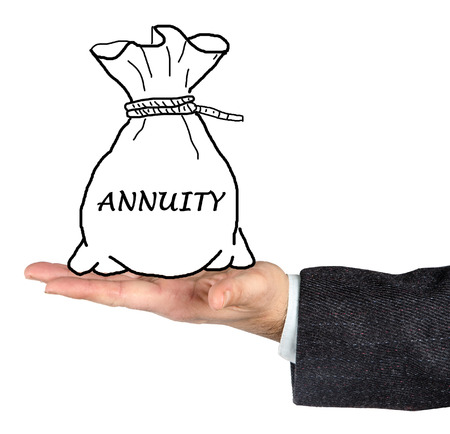 regular people: Bag with annuity