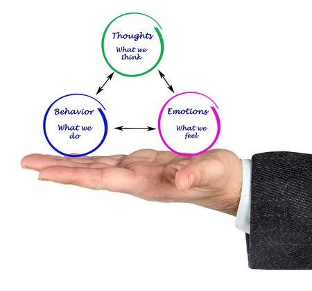 behavior: Relationship between cognition, emotions, and behavior
