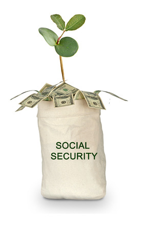 La seguridad social Foto de archivo - 38068718