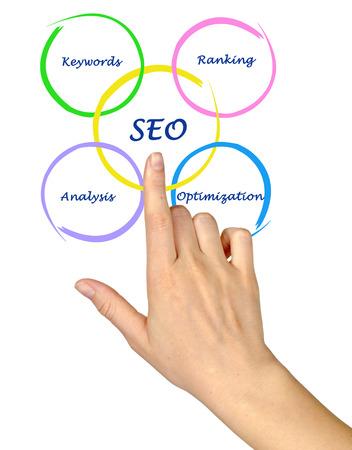 searh: SEO diagram