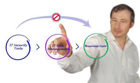 auditors: Diagram of IT security
