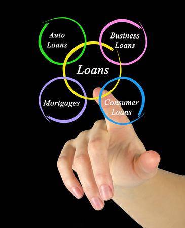 loans: Diagram of loans